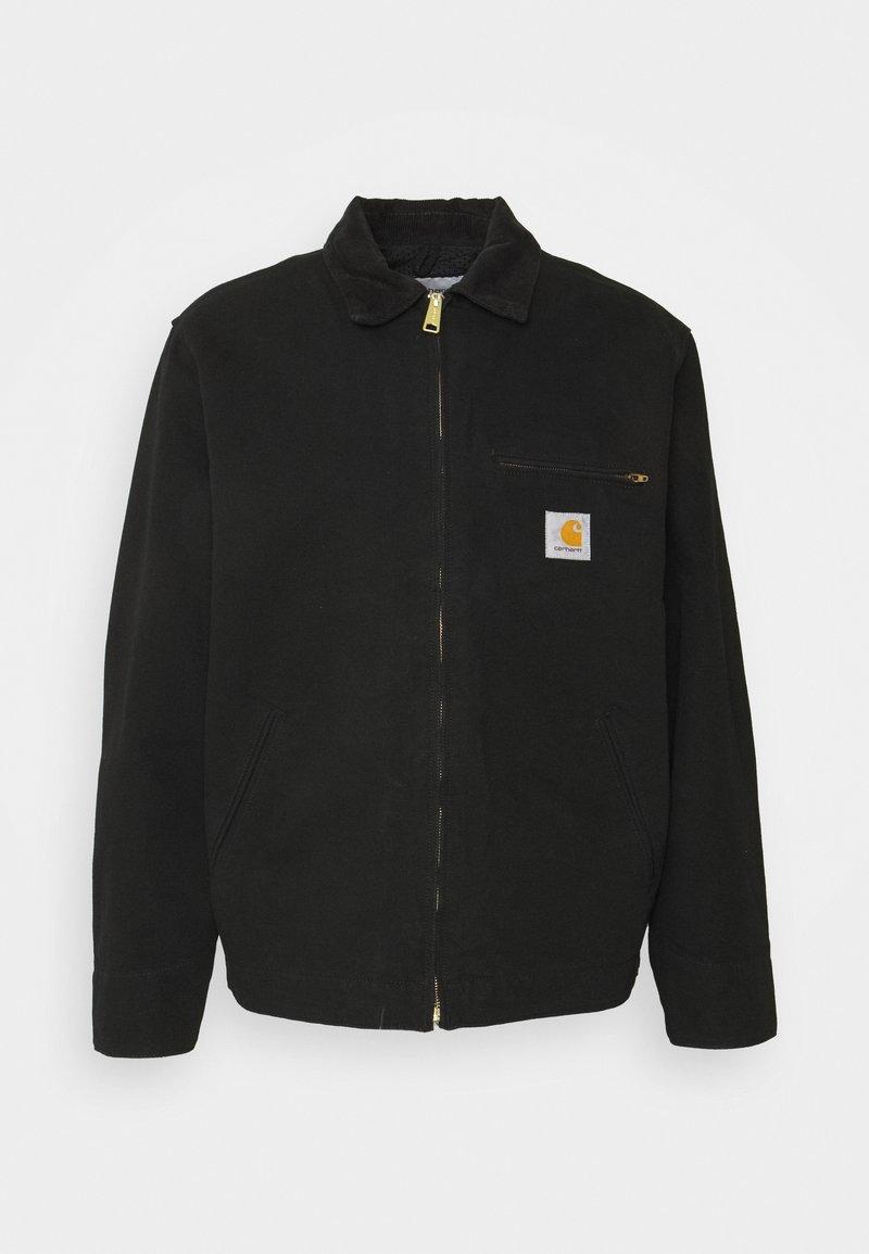 Carhartt WIP - DETROIT JACKET DEARBORN - Summer jacket - black rinsed