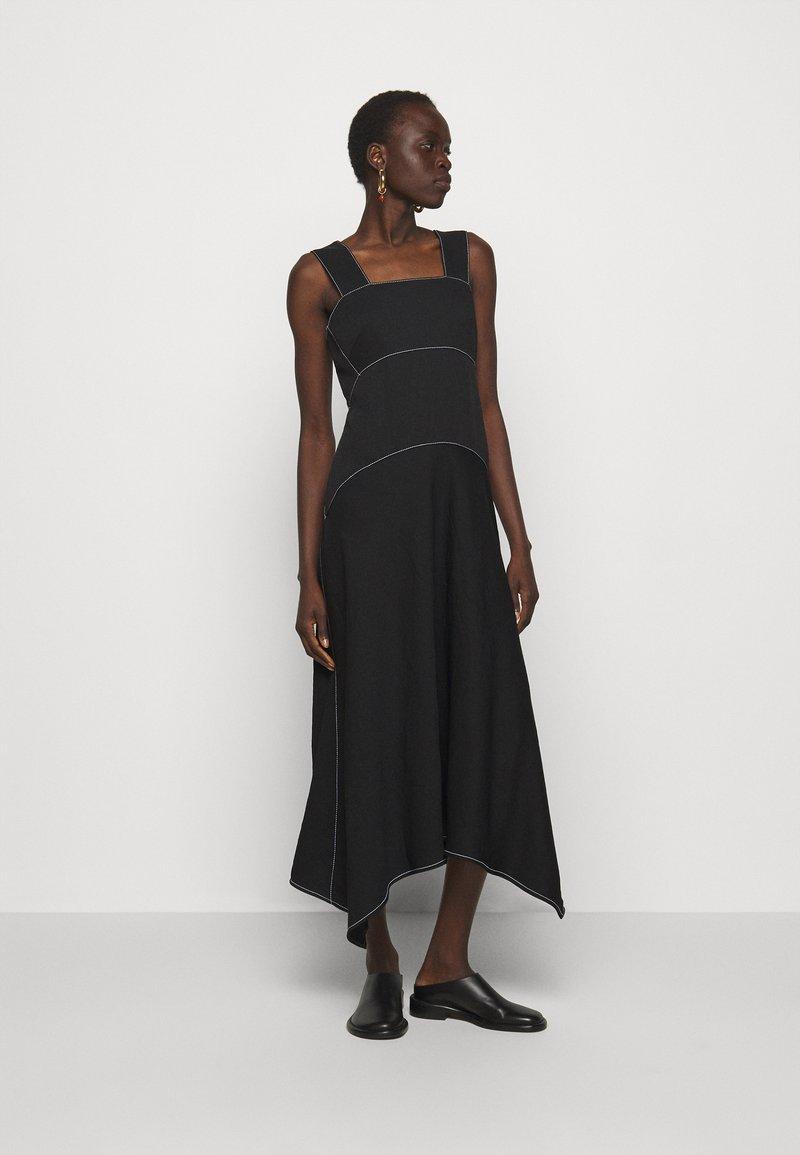 Proenza Schouler White Label - RUMPLED DRESS - Robe d'été - black