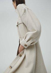 PULL&BEAR - Classic coat - beige - 4