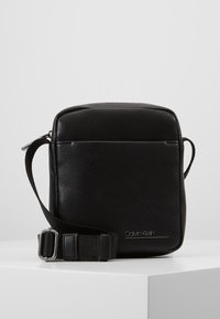 Calvin Klein - MINI REPORTER - Across body bag - black - 0