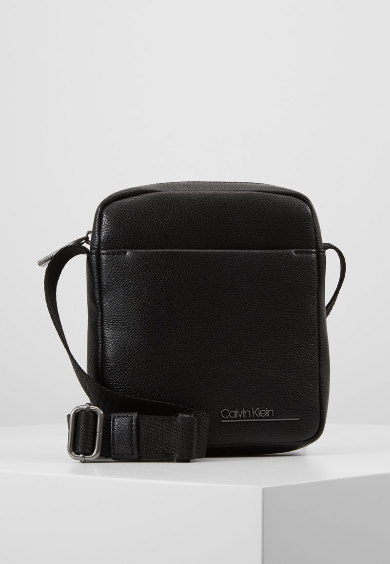 Calvin Klein - MINI REPORTER - Across body bag - black