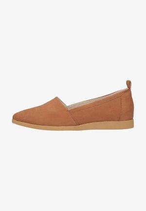Nazouvací boty - hellbraun