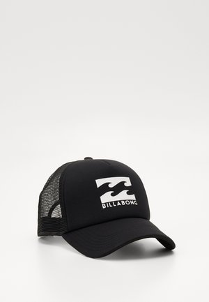 PODIUM TRUCKER - Caps - black/white