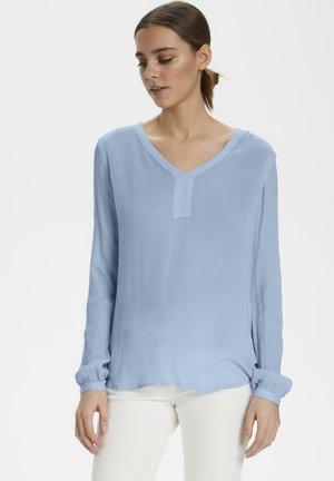 AMBER BLOUSE - Bluse - light blue