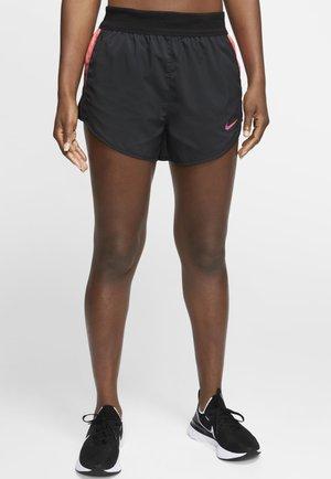 SHORT RUNWAY - Sports shorts - black/laser crimson/vivid purple