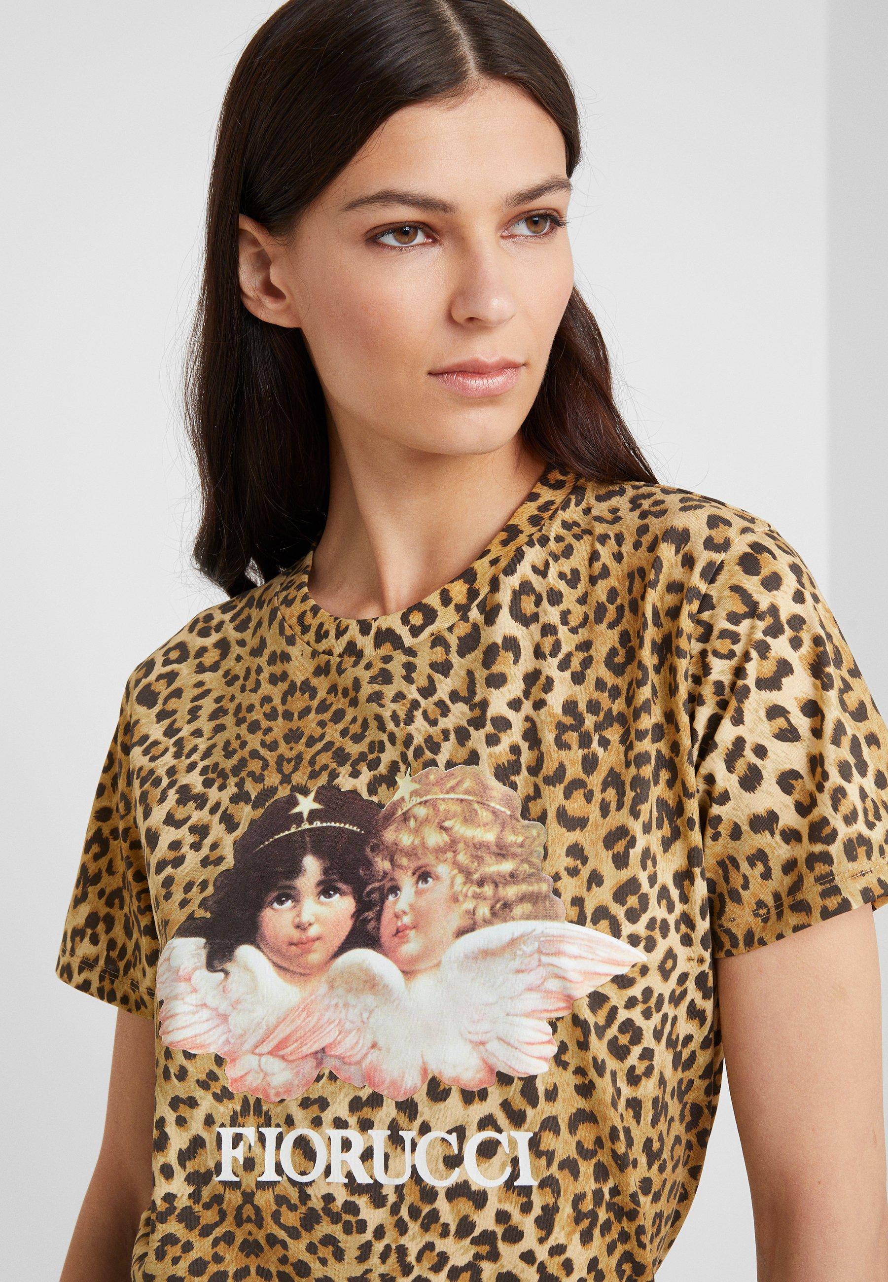 Fiorucci VINTAGE ANGELS TEE  - T-shirt con stampa - brown - Abbigliamento da donna Sconto AAA