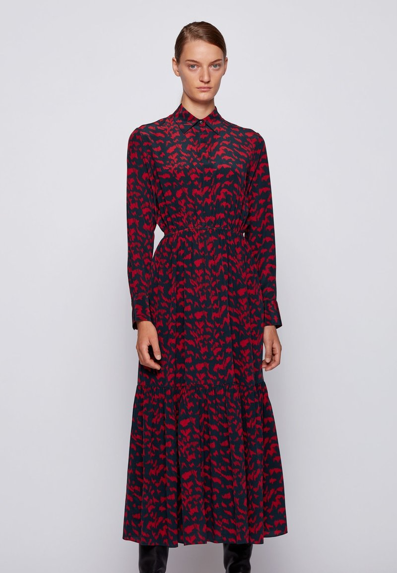 BOSS - Shirt dress - patterned