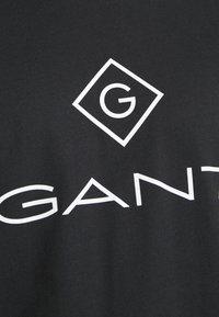 GANT - LOCK UP  - Print T-shirt - black - 6