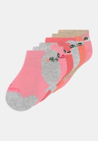 Skechers - GIRLS SEASONAL SNEAKER 6 PACK - Socks - light grey - 0