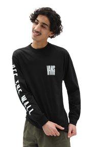 Vans - MN VANS REFLECT LS - Långärmad tröja - black - 0