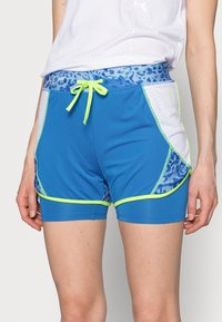 ONLY PLAY Tall - ONPANGILIA LIFE TRAINING - Shorts - imperial blue/white - 3