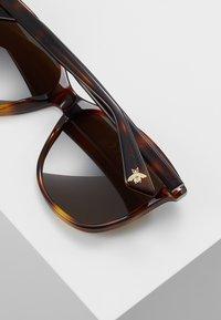 Gucci - Lunettes de soleil - brown - 4