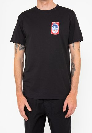 GREASE MONKEY TEE - Print T-shirt - black