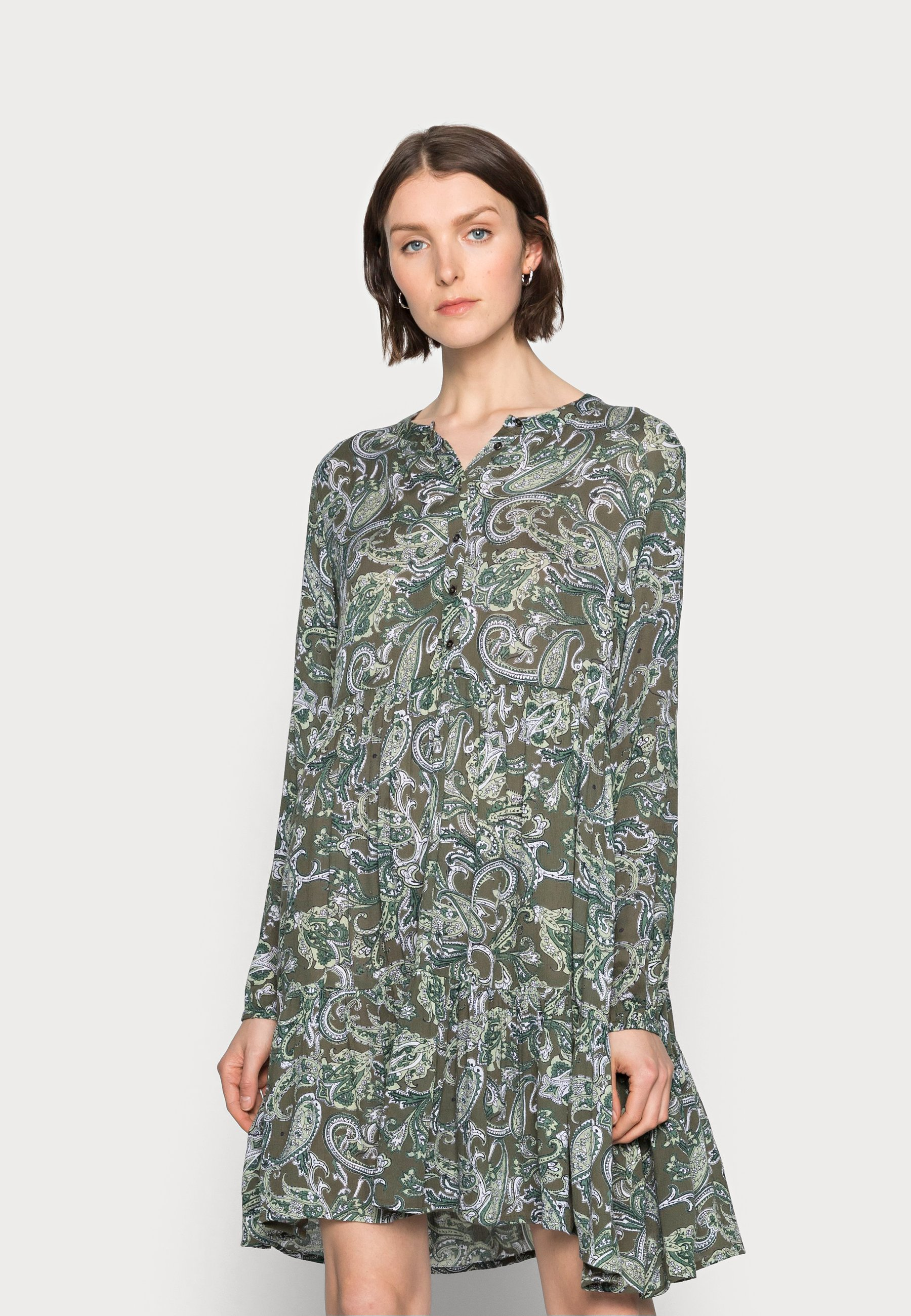Mujer EVITY AMBER DRESS - Vestido camisero