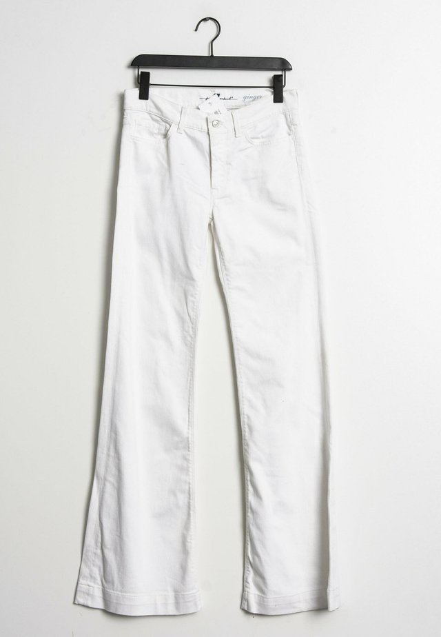 Relaxed fit jeans - white