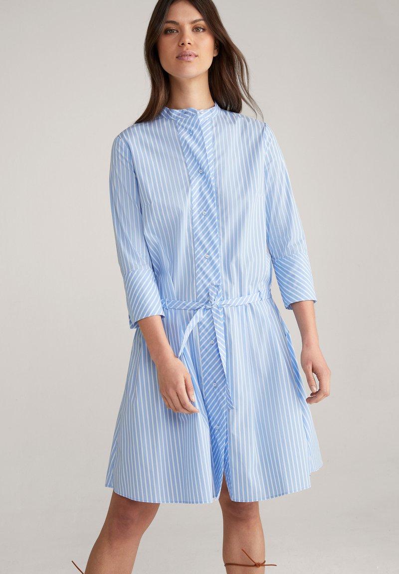JOOP! - Shirt dress - blau/weiß gestreift