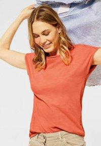 Cecil - Basic T-shirt - orange - 0