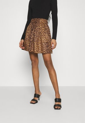 KIA - Mini skirt - golden brown