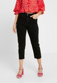 Noisy May Petite - NMJENNA - Straight leg jeans - black - 0