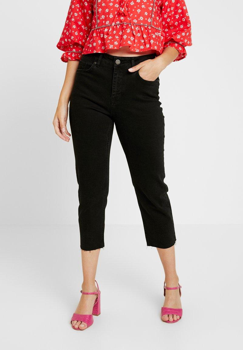 Noisy May Petite - NMJENNA - Straight leg jeans - black