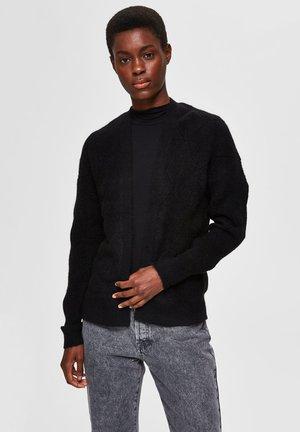 STRUCTURE  - Cardigan - black