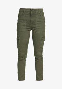 UTILITY SKINNY - Cargo trousers - khaki