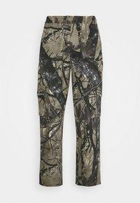 Sweet SKTBS - SWEET LOOSE SURFER PANTS UNISEX - Trousers - green - 0
