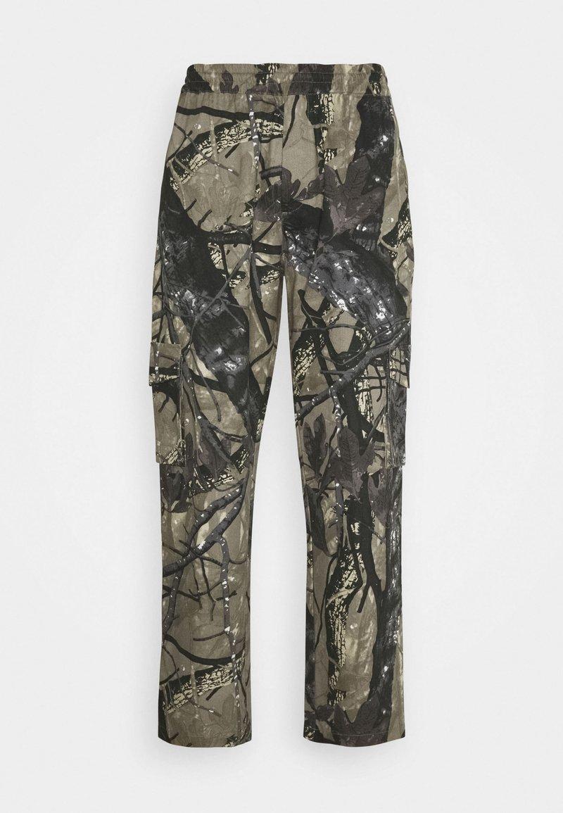 Sweet SKTBS - SWEET LOOSE SURFER PANTS UNISEX - Trousers - green
