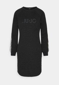 Liu Jo Jeans - ABITO - Jerseykjole - nero met - 0