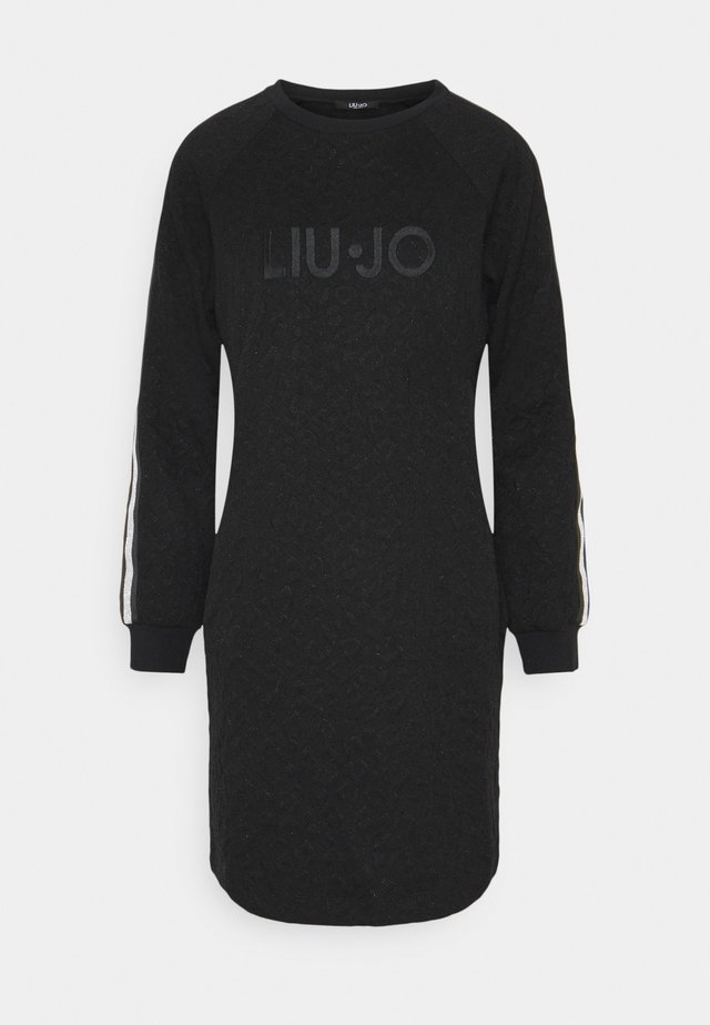 ABITO - Jersey dress - nero met