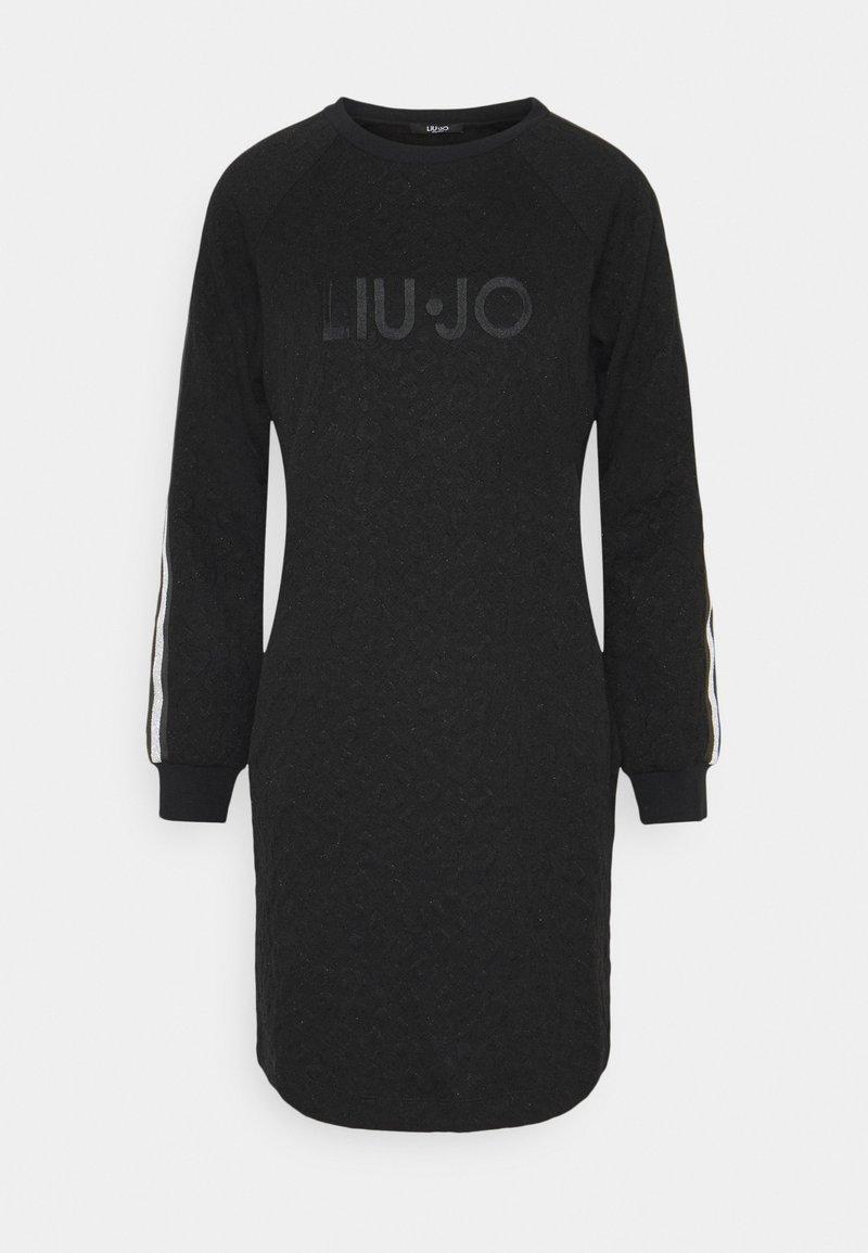 Liu Jo Jeans - ABITO - Jerseykjole - nero met