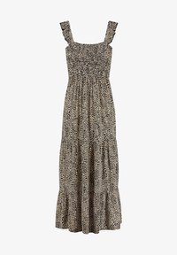 Day dress - toasted almond beige