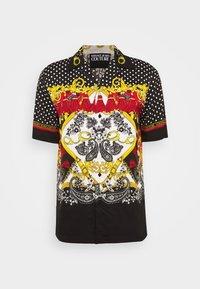 Versace Jeans Couture - BELT PAISLEY - Camisa - black - 7