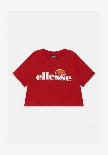 NICKY - T-Shirt print - red
