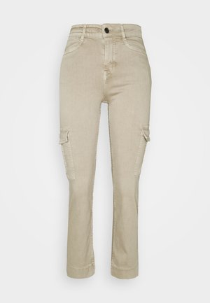 OUTBOUND - Cargo trousers - sand