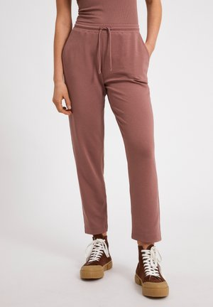 Tracksuit bottoms - dusty rose