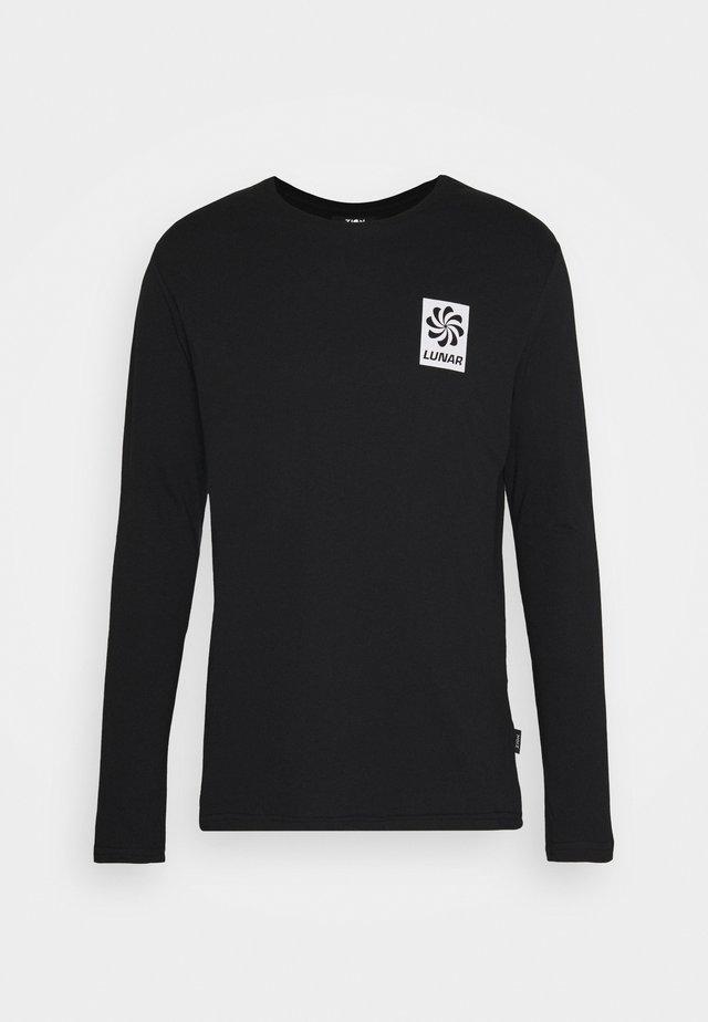 UNISEX - Long sleeved top - black
