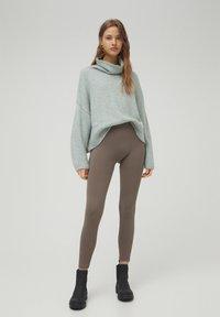 PULL&BEAR - Leggings - grey - 1
