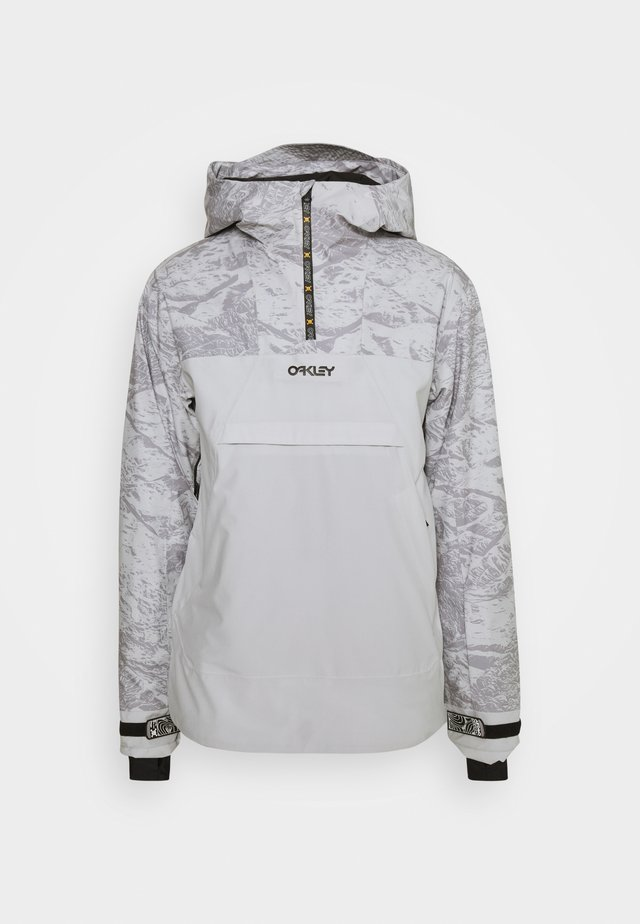 ICE PULLOVER - Kurtka snowboardowa - grey