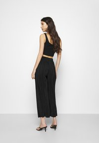 Monki - SEVERINA TROUSERS - Trousers - black dark - 2
