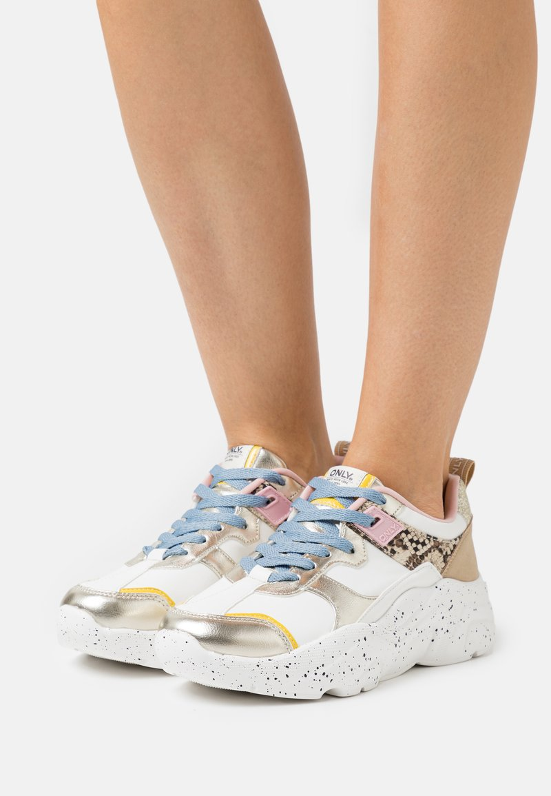 ONLY SHOES - ONLSANNA CHUNKY - Trainers - multicolor