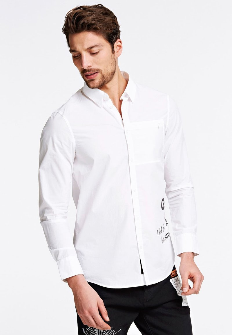 Guess - Shirt - weiß
