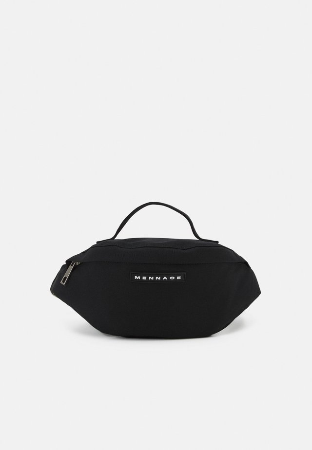 AFTERMATH MENNACE HANDLE BUM BAG UNISEX - Ledvinka - black
