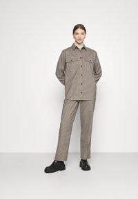 Envii - ENLAFAYETTE PANTS - Trousers - brown - 1