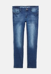 Staccato - SKINNY TEENAGER - Jeans Skinny Fit - mid blue denim - 0