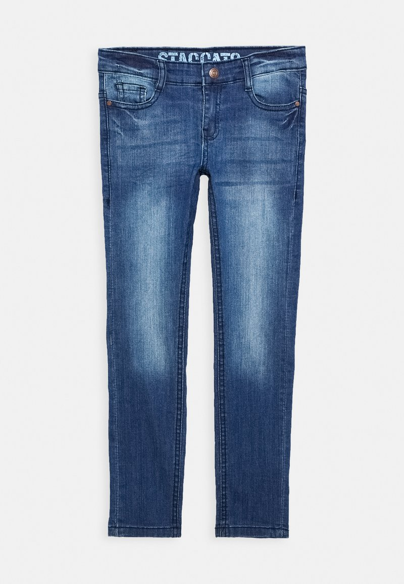 Staccato - SKINNY TEENAGER - Jeans Skinny Fit - mid blue denim