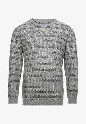 JORFLOW CREW NECK - Sweter - grey melange