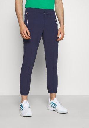OLYMP PANT - Träningsbyxor - navy blue/white