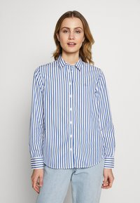 GANT - THE BROADCLOTH STRIPED - Camicia - bright cobalt - 0