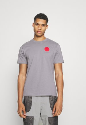 JAPANESE SUN UNISEX - Print T-shirt - frost grey